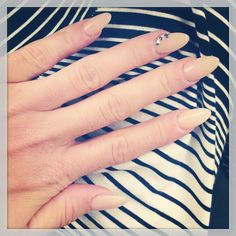 These stiletto nails don't seem so drastic as the crazy talons I've been seeing lately...