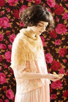 Beginner's Lace Shawl FREE
