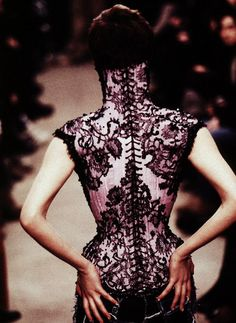 Mr Pearl for McQueen... complete perfection.