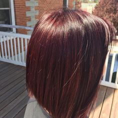 Fun with Redken Wine Hair