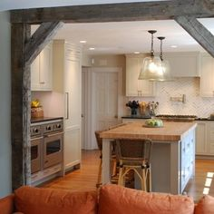 Wooden Beam Room Dividers Design Ideas, Pictures, Remodel and Decor