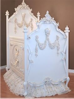 Beautiful crib ~ baby ~ Tuck & Cover: Fabulous Just Set the Bar a Little Higher