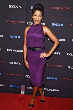 Tamron Hall_23 09 2014 Tamron Hall attends the The Equalizer New York premiere at AMC Lincoln Square Theater...