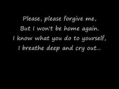 Evanescence-Missing Lyrics - - This is not among my usual posting topics but the song was moving to me personally and I have no idea why. Beautiful Songs, Love Songs, Music Mix, My Music, Chronic Loneliness, Ben Moody, Music Lyrics, Music Quotes, Cant Take Anymore