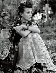 Millie Bobby Brown by Mikael Jansson for Interview November 2016