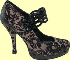 Penthouse Shoes by Ellie   Greta Heel
