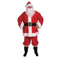 Economy Santa Suit - Adult - One-Size