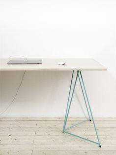 DIAMOND - Stackable table trestles + Studio table top / Michal Malášek / Master & Master