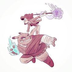 871 отметок «Нравится», 6 комментариев — Roxann Cole (@roxanncole) в Instagram: «I drew @trisketched characters, cause they're super cool and adorable and I love magic and fairies…»