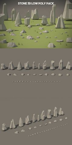 Before you Free Stone Low Poly Models 3d Design, Game Design, Modelos Low Poly, Game Character Design, Character Art, Mode 3d, Low Poly Games, Pix Art, Landscape Concept