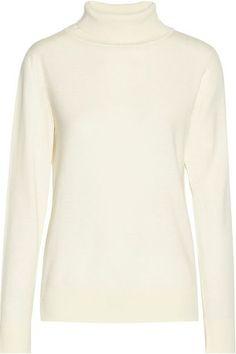 The Row - Caya Merino Wool And Cashmere-blend Turtleneck Sweater - Ivory - medium