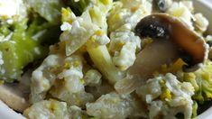Vaříme bez tuku: Halušky se žampiony, brokolicí a nivou