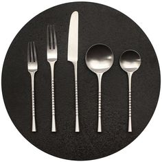 Dansk Jette Flatware By Jens J. Quistgaard | From a unique collection of antique and modern tableware at http://www.1stdibs.com/furniture/dining-entertaining/tableware/