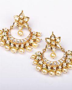 Hand crafted Brass and Kundan Jewellery - www.rusticrealities.com