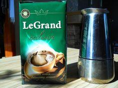 Kawa Le Grand i kawiarka. Jak zaoszczędzić na kawie.