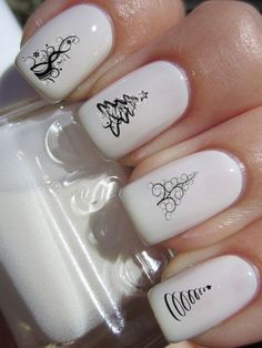 This article features different nail designs that really look trendy and that's why i think that you should try out these nail decals and designs. The good thing about nail art designs is that you Love Nails, How To Do Nails, Fun Nails, Pretty Nails, Style Nails, Giraffe Nails, Deer Nails, Camo Nails, Safari Nails