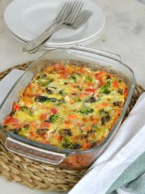 Pastel de verduras express ¡Fácil y delicioso! - Pratik Hızlı ve Kolay Yemek Tarifleri Mexican Food Recipes, Vegetarian Recipes, Healthy Recipes, Ethnic Recipes, Vegetable Cake, Vegetable Recipes, Easy Healthy Breakfast, Breakfast Recipes, Healthy Cooking