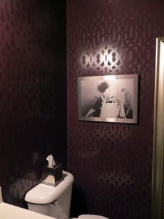 1000 Images About Stenciled Bathrooms On Pinterest