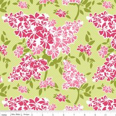 Riley Blake Designs Dainty Blossoms by Carina Gardner by PamsPlace, $8.00