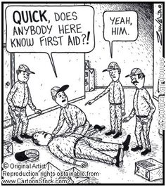 The more people who know CPR/AED/First Aid, the less of a chance this could happen!