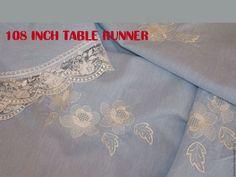 108 inch table runner