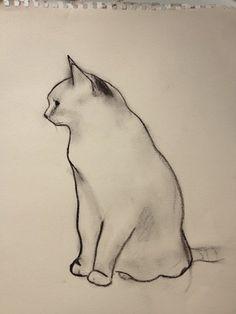 "Saatchi Art Artist Kellas Campbell; Drawing, ""Sitting It Out"" #art"