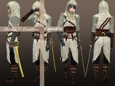 Assassins Creed Altaïr full outfit at Studio K Creation