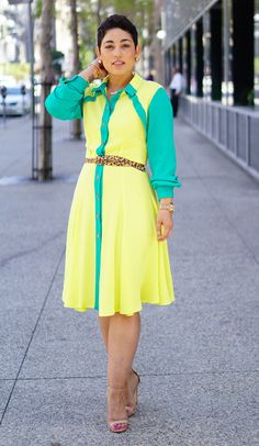 My DIY Dress that almost didn't make the cut...now on the blog