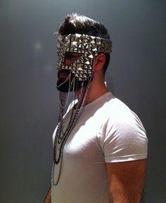 Designer: Masks by K.Nt...HOT STUDDED STUD