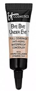 It Cosmetics Bye Bye Under Eye Full Coverage Anti-Aging Waterproof Concealer Best Under Eye Concealer, Best Concealer, Waterproof Concealer, Bye Bye, Anti Aging, Cosmetics, Top, Crop Shirt, Shirts