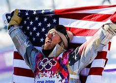 """Sage Kotsenburg (USA snowboarder) at the first ever slopestyle event 2014 Winter Olympics in Sochi Russia. ~ """"I had no idea I was even going to do a 1620 in my run until three minutes before I dropped. It's kind of what I'm all about."""" Kotsenburg took home the first gold medal for Team USA in fitting fashion. Just as is the American way, he took a chance and it paid off big. He unveiled a new move that he calls the """"Holy Crail."""" ~"""