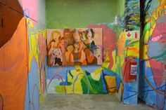 Studio Installation | Quaymberley Illustration Art, 1, Studio, Detail, Painting, Painting Art, Studios, Paintings, Painted Canvas