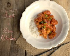 Sweet and Sour Chicken 7/30/15:  This recipe is a WIN!  Used 1 T glycerin instead of yacon syrup, and ONLY use 3 T Swerve confectioner's in the sauce.  Excellent!