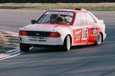 Ford Escort rallycross car