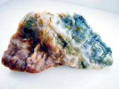 Ocean Jasper in its raw for--must learn to recognize these formations so I can enjoy the rock habit too !~!