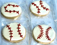 Beki Cook's Cake Blog: Play Ball! Baseball Cookies