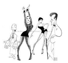 Chicago - Bebe Neuwirth, Ann Reinking, Joel Grey, and James Naughton: Hand signed by Al Hirschfeld Limited-Edition Lithograph Edition Size: x Caricature Artist, Caricature Drawing, Bebe Neuwirth, Joel Grey, Bob Fosse, Celebrity Caricatures, Felder, Realism Art, Black And White Portraits