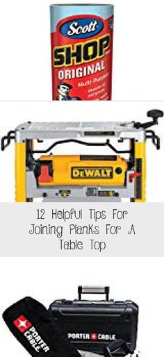 12 Helpful Tips For Joining Planks For A Table Top - woodworking projects beautiful Wood Bench Plans, Diy Wood Bench, Woodworking Clamps, Woodworking Projects, Sanding Wood, Plank Table, Bench With Back, Wood Store, Make A Table