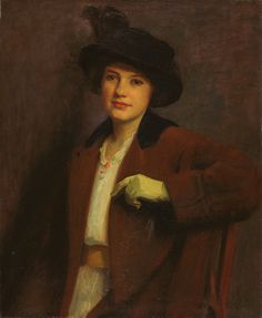Painting by William Merritt Chase