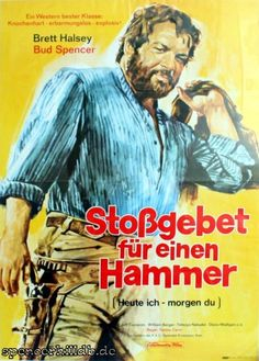 Plakat - Stoßgebet für einen Hammer - Bud Spencer / Terence Hill - Datenbank