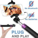 Amazon.com: Fugetek FT-568 Professional Selfie Stick with Bluetooth Remote for Apple, Android, Gopro & Digital Cameras (49-Inch, Black): Cell Phones & Accessories