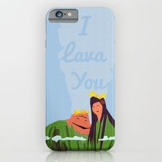 i lava you, volcano, disney pixar ,.. phone case, iphone, galaxy.. by studiomarshallgifts on Etsy
