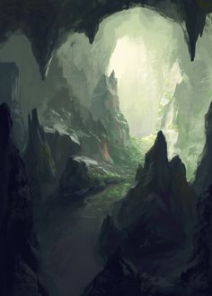 New digital art fantasy landscape paintings 61 ideas Fantasy Art Landscapes, Fantasy Landscape, Landscape Art, Beautiful Landscapes, Landscape Paintings, Arte Digital Fantasy, Fantasy Kunst, Digital Art Girl, Landscape Background