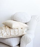 love the warmth and texture of white upon cream upon ivory