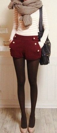 #Winter Shorts & scarf