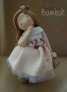 PiccoleBambole:  Per dare il benvenuto a Nicole - Porcellana fredda- cold porcelain
