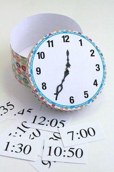Tutorial: Time Telling Clock Activity   Analisa Murenin for Silhouette