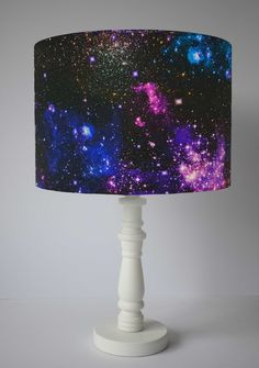 Galaxy Lampshade For Table Lamp, Solar System Decor Accessories, Space Themed Bedroom Ceiling Lights, Night Sky Nursery, Star Room Decor Baby Room Themes, Baby Room Diy, Bedroom Themes, Room Decor Bedroom, Sky Nursery, Nursery Room, Galaxy Decor, Floor Standing Lamps, Bedroom Ceiling