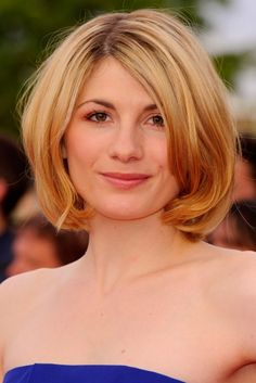 Bob Hairstyles 2019 To Inspire You To Go For The Chop Jodie Whittaker - Bob Hairstyles - Celebrity Bobs 1940s Hairstyles, Celebrity Hairstyles, Bob Hairstyles, Wedding Hairstyles, Jodi Whittaker, Jodie Whittaker Hot, Celebrity Bobs, Chignon Wedding, Let Your Hair Down