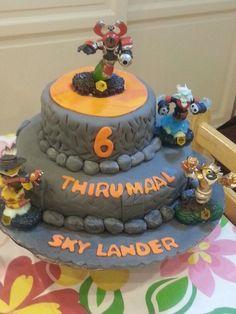 Skylander cake by Me :)